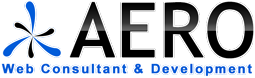 Logo Aero Web Consultant and Development